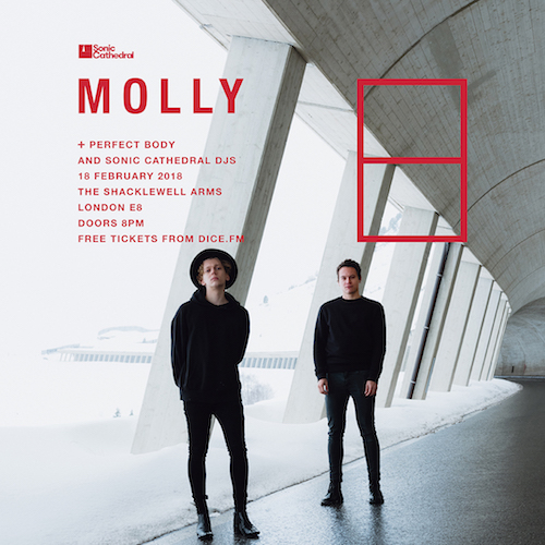 Full line-up for MOLLY's London show on February 18 revealed