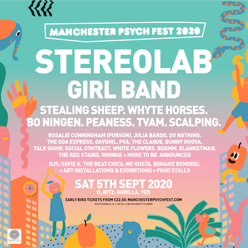 bdrmm to play Manchester Psych Fest with Stereolab and Girl Band